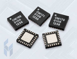GaAs MMIC Power Amplifiers  cover 5-11 GHz range.