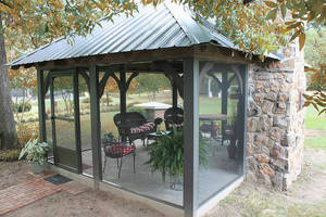 Screen Enclosures Provide Opportunities for Indoor Fun - Outdoors