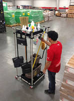 Housekeeping Cart supports 5-S programs.