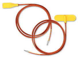 Self-Adhesive Thermocouples have molded silicone design.