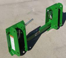 Skid Steer Adapter fits John Deere tractors/loaders.