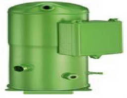 Scroll Compressors offer capacities from 10-20 tons.