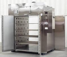 Floor-Level Cabinet Oven reaches temperatures to 350°F.