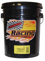 Synthetic Racing Gear Lubricant meets high-performance needs.