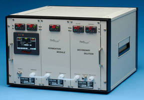 Calibration Gas Generator supports automated humidity control.