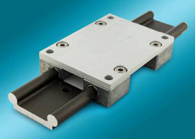 Linear Guide Rail System has maintenance-free design.