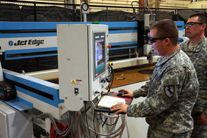 U.S. Army's Legendary Blackhorse Regiment Installs Jet Edge Water jet System
