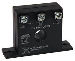 DC Current Sensors come in compact, non-adjustable package.