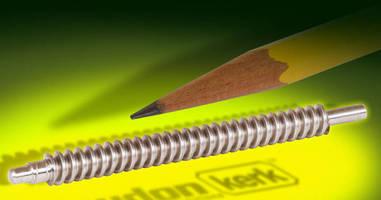 Lead Screw Assemblies suit miniature mechatronic systems.