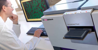 High Content Imaging System enables high-throughput operation.