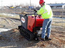 Power Buggy provides traction on inclines and soft soils.