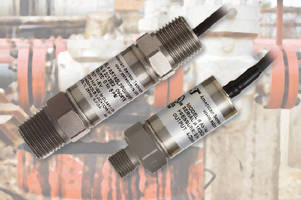 IS Pressure Transmitters offer male process connections.