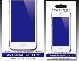 Screen Protector features anti-microbial element.