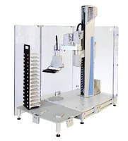 Benchtop Robot automates laboratory workflows.