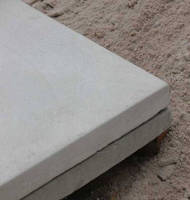 Concrete Equipment Pads have lightweight, cellular design.