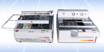 Selective Soldering System features benchtop design.