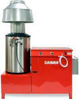 Super Max Pressure Washer Steam Cleaner By Daimer Industries Debuted For Bus Washing Industry