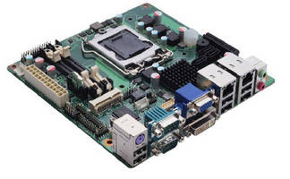 Mini ITX Motherboard  offers multiple display interfaces.