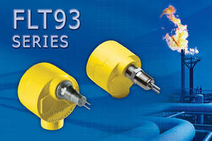 FCI FLT93 Series FlexSwitch Provides Reliable Relief Valve and Flare Gas Flow or Leak Detection