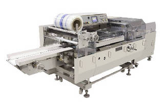 Leak Resistant Stretch Overwrapper wraps 40 trays/min.