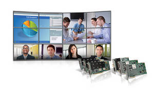 Matrox Mura MPX Series Boards Now Compatible with AMX Control Systems, Facilitating Video Wall Integration and Control