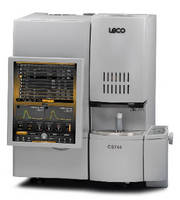 Carbon/Sulfur Analyzer includes combustion furnace.