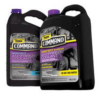 Prestone Command(TM) Heavy-Duty Extended Service Antifreeze/Coolant SCA Pre-Charged for Severe Duty and Extreme Conditions