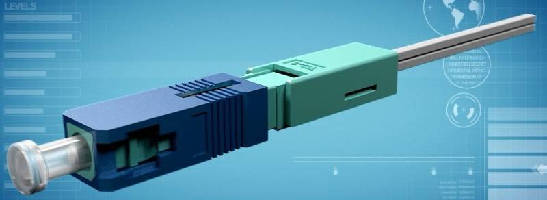No-Polish Connector facilitates field termination.