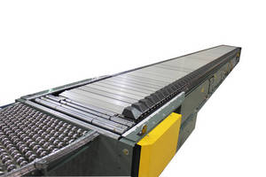 Conveyor Sorters perform positive, gentle diverting.