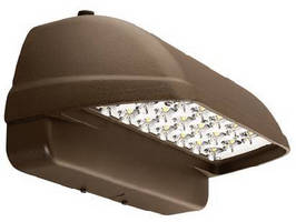 Architectural LED Wallpack suits entry/perimeter applications.
