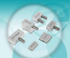 RF MoCA Filter Modules are pin-in-paste compatible.