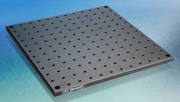 Solid Aluminum Breadboard has lightweight, stable design.