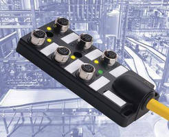 M12 Passive Junction Box offers 6 ports for device integration.