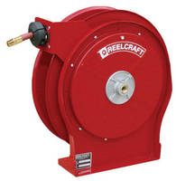 Compact All-Steel Reels offer 2 retracting options.