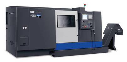 Horizontal Turning Center provides machining flexibility.