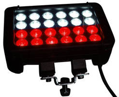 Extreme Duty LED Light Bar offers dual color output.