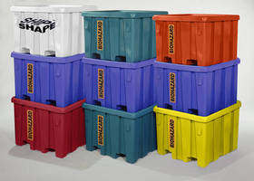 Bulk Biohazard Transport Container features U.N. certification.