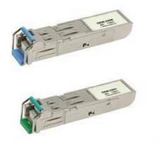 Fiber Optic Transceivers offer 10 km max transmission distance.