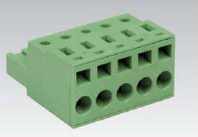 Spring Clamp PCB Terminal Blocks withstand vibration.