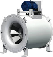 Inline Mixed Flow Fan suits low-pressure applications.