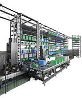 Automated Storage/Retrieval System offers 300 kg load capacity.
