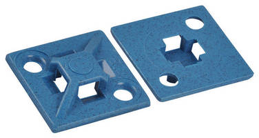 Detectable Cable Ties offer several mounting base options.