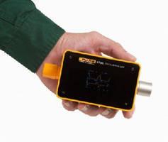 Portable Gas Flow Analyzer features internal sensors.