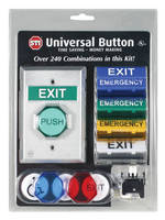Universal Button Offers Over 300 Combinations in One Package