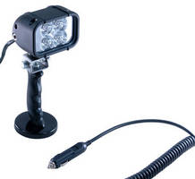 Portable 12 V LED Work Light is suited for automotive repairs.