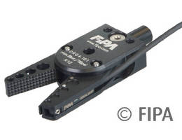 Sprue Gripper removes workpieces during injection molding.