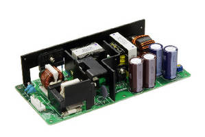 AC/DC Power Supplies provide 300 W with convection cooling.