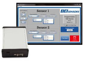 Programmable Hall Device customizes position sensor output.