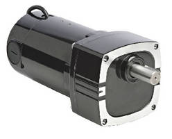 Parallel Shaft Gearmotor delivers 3-500 rpm output speeds.