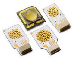 Multichip Emitters deliver over 50 lm per square millimeter.
